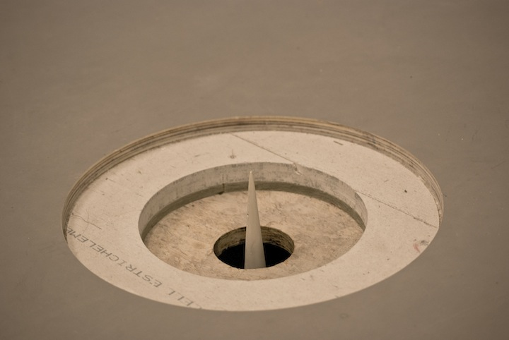 A hole in the floor becomes a space becomes a building_detail