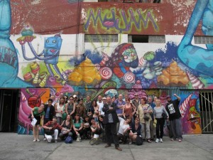 DGT group photo MUJAM Mexico city – 2013