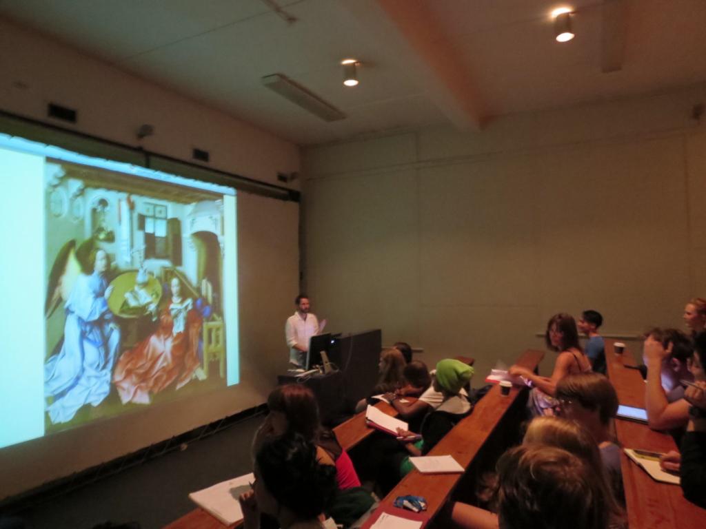 ct Vincka de Vlaamse primitieven en An in een college in Cape Town-01