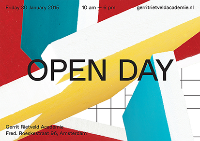 Rietveld - OPEN DAY 2015 - flyer