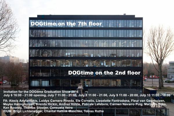 Invitation Graduation Show DOGtime 2016